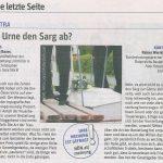 Beitrag in der Niederösterreichischen Zeitung