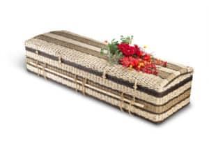 Bambussarg für Erdbestattung