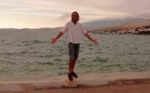 Jörg begleitet Ihre Seebestattung in der kroatischen Adria